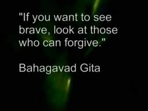 Gita forgiveness