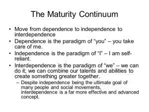 maturity-continuum