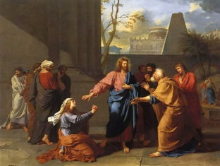 Germain-Jean Drouais_Jesus and the Canaanite Woman_1784_Louvre