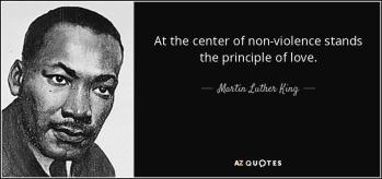 MLKJr Nonviolence