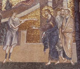 Jesus Heals Sabbath Chora Church