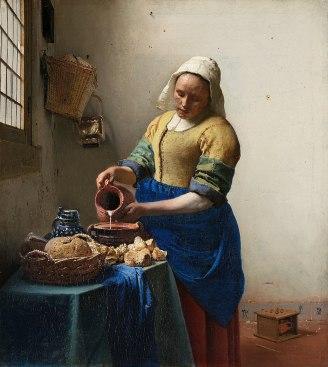 JVermeer The Milkmaid