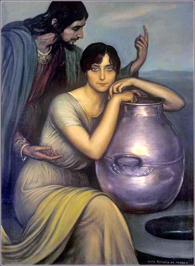 Romero-de-Torres-Julio-1910-b The Samaritan Woman